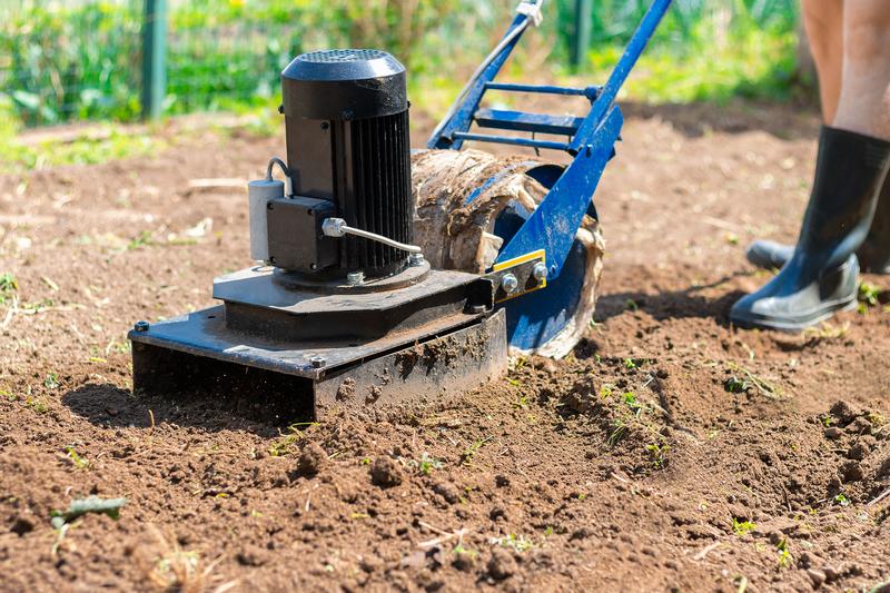 omploegen van je tuin
