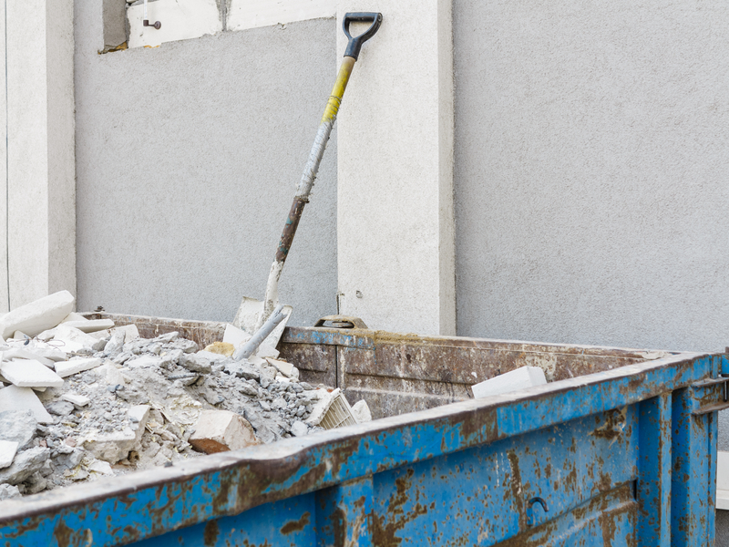 bouwafval container huren